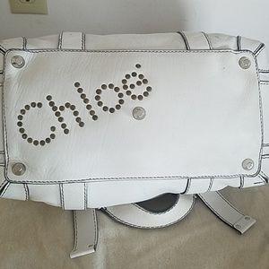 Vintage  Chloe Patsy white bag